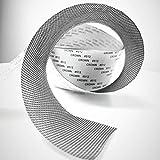 Riparazione dello schermo di porte e finestre, nastro adesivo per zanzariere per finestre, nastro in tessuto di fibra di vetro con guarnizione adesiva resistente all'acqua 5 cm x 200 cm (grigio)