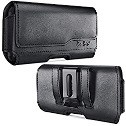 commercial Devin belt clip cover for iPhone 6 6s, iPhone 7 8 cover, leather holster cover with belt clip for iPhone 6 6s phone pouch case