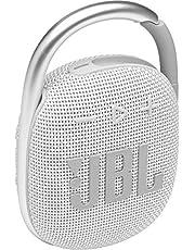JBL CLIP4 Bluetooth音箱 USB C充電/IP67防塵防水/搭載無源輻射器/便攜/2021年款 白色 JBLCLIP4WHT 【國內正規品/制造商保修1年】