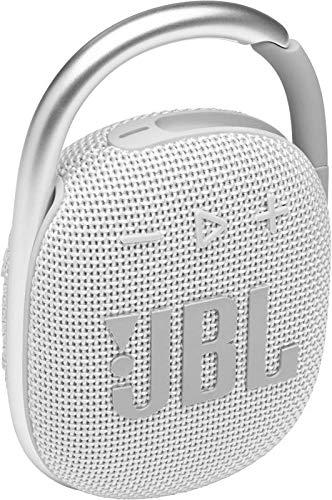 JBL CLIP4 Bluetoothスピーカー USB C充電/IP67防塵防水/パッシブラジエーター搭載/ポータブル/2021年モデル ホワイト JBLCLIP4WHT 【国内正規品/メーカー1年保証付き】