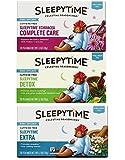 Celestial Seasonings Wellness Caffeine Free Herbal Tea 3 Flavor Variety Bundle, 1 Each: Sleepytime Extra, Sleepytime Echinacea Complete Care, Sleepytime Detox (20 Count Ea.)