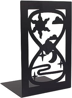 دجغات معدنية ديكور الحديد المطاوع كتاب الجرف حامل Bookend Book Book Stand Book ينتهي للأفلام/الأقراص المدمجة/ألعاب الفيديو...
