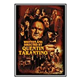 DOAQTE Quentin Tarantino Film Retro Leinwanddrucke