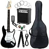 McGrey Rockit guitarra eléctrica set completo ST Black