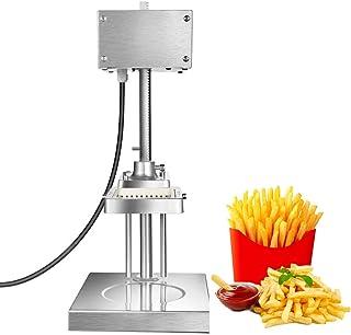 Lumemery électrique Coupe-Frites Commercial déchiqueteuse Professionnelle de Pommes de Terre avec des Lames de 8mm 10mm 12...