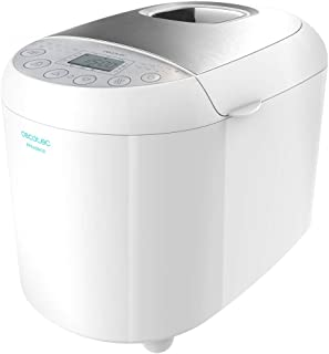 Cecotec Panificadora Bread&Co 1000 Delicious. 19 Programas, 1 Kg, 15 Horas programables, Cubeta Apta para lavavajillas, Re...