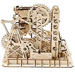 Nice 4-5 hour wood DIY project Gift present for boyfriend partner hubby Great STEM toy designed for adults and teenagers Combination of a puzzle and model wrapped up in a 3-D artwork Gear drive, we believe it is the coolest decoration and could give ...