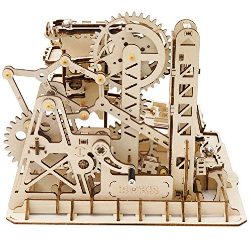 ROKR Marble Run Kit 3D Wooden Puzzles Model to...