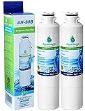 2x AH-S0B compatible pour filtre à eau Samsung DA29-00020B, HAF-CIN/EXP, DA97-08006A-B, DA29-00020A, réfrigérateur