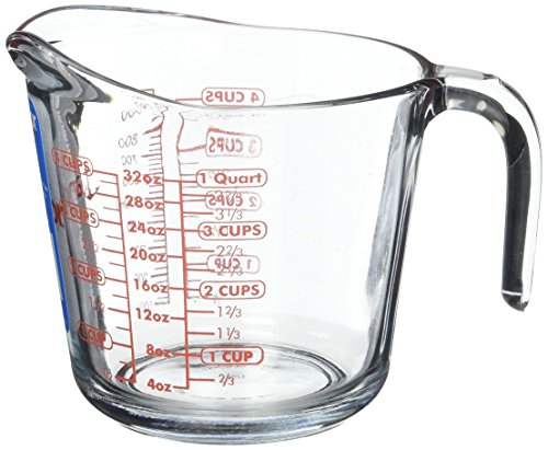 Anchor Hocking Glass Measuring Cup, 32 Oz