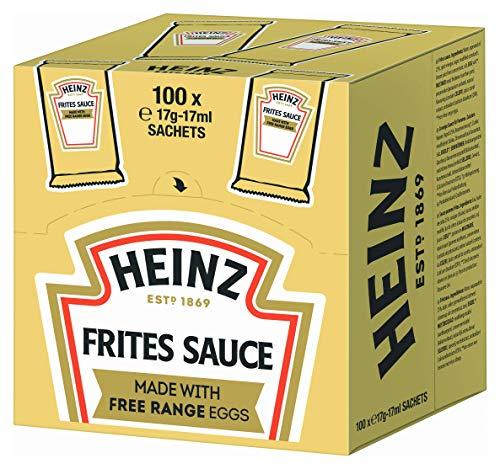 Heinz Frites Sauce , Portionsbeutel Cube , 4er Pack (100 x 17 ml)