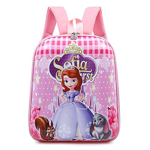 MEILIXIU Cartoon Picture Backpack, There Are Six Options, Made of Nylon Material, School Supplies for Elementary and Middle School Students (Color : C)