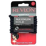 Revlon Extra Thick Black Hair Elastics, 15 Count...
