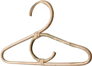 Dabeigouzyij Cintre Adulte, Vêtements de rotin Centre de Cintre Style Enfants Garments Organisateur Porte-Enfants Enfants ...