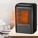 Winter Mini Portable Electric Space Heater, Small Heater for Camping for Personal Use, Safe & Quiet 500w Fast Heating Air Warmer Overheat Protection Space Saving,Suitable for Bedroom Home Office