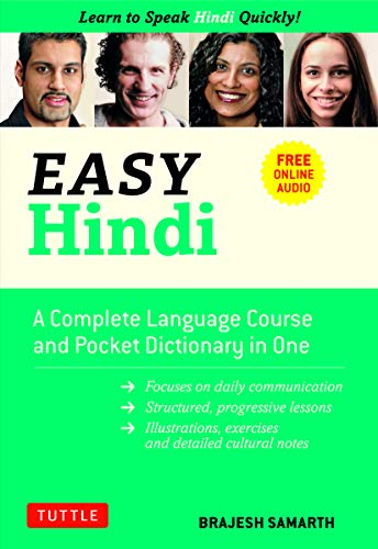 Compare Textbook Prices for Easy Hindi: A Complete Language Course and Pocket Dictionary in One Companion Online Audio, Dictionary and Manga included Easy Language Series Not for Online ed. Edition ISBN 9780804843096 by Samarth, Brajesh