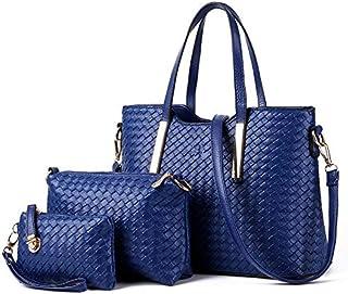 حقيبة ماسنجر تحمل على الكتف واليد من جلد البولي يوريثين للنساء - TFZ086