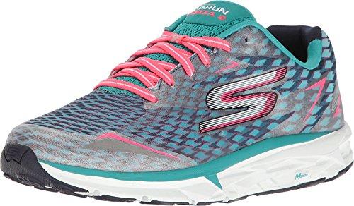 Skechers Flex Appeal 2.0 Tropical Bree Multisport Zapatos al aire libre para mujer, color Azul, talla 36.5 EU