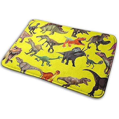 Nice-Guy Howling Dinosaur Bath Mat Fußmatte rutschfeste saugfähige Bad Teppich Teppich 15,7 x 23,5 Zoll