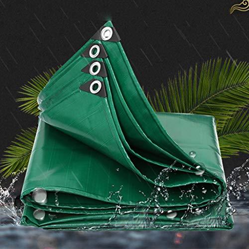 HLYT-0909 Garden Mate 2x1.5m / Multi Purpose Waterproof Poly Tarp Cover, para Muebles de jardín, Piscina, automóvil, camión, Impermeable y Resistente a la Rotura Cubierta (500g / m²)