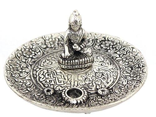 Govinda - Tibetan Buddha Incense Burner Holder - 4.5 Inch
