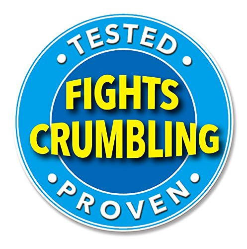 Knock Out! Fights Crumbling Heavyweight Eraser Pad, 2 Count (Pack of 20)