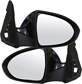 AUTOMUTO Rear View Mirrors Left and Right Side Towing Mirrors compatible with 2013 2014 2015 2016 Kia Sportage with Power Folding Power adjustment Turn Signal KI1320186-AUT, 876103W555-AUT