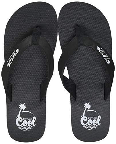 Cool shoe Zinc, Chanclas Hombre, Negro, 43.5 EU