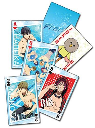 Free! Iwatobi Swim Club: Haruka, Makoto, Rin Group Playing Cards