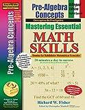 Pre-Algebra Concepts: Bilingual Edition, English-Spanish: Mastering Essential Math Skills (Spanish Edition)