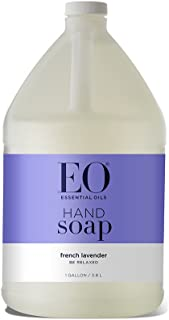 Sponsored Ad - EO Botanical Liquid Hand Soap Refill, French, 1 Gallon Purple Lavender 128 Fl Oz