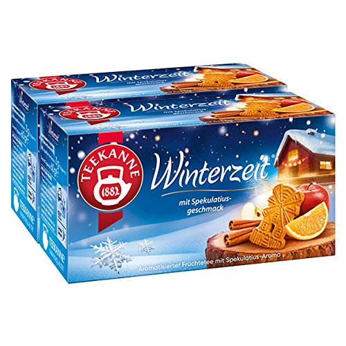 Teekanne Winterzeit 20 Beutel, 2er Pack (2 x 60 g)