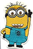 Despicable Me Movie MINION Embroidered Iron On / Sew On Patch