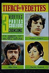 Le tiercé des Vedettes n°32 1969 06 Herbert Léonard Gilles Dreu Martine Baujoud