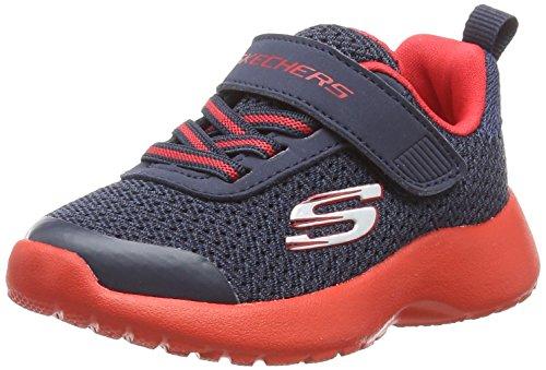 Skechers Baby Jungen Dynamight - Ultra Torque Sneaker, Blau (Navy/Red Nvrd), 24 EU