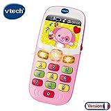 VTech - 138165 - Baby Smartphone Bilingue - Rose