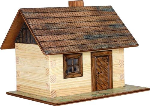 Walachia 8594036430013 - Nr. 1 Holzbaude Hütte Holz Modellbauset, Modellbahn Spur 1/ LGB 1:32