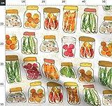 Küche, Inneneinrichtung, Gemüse, Eingelegte Gurken,