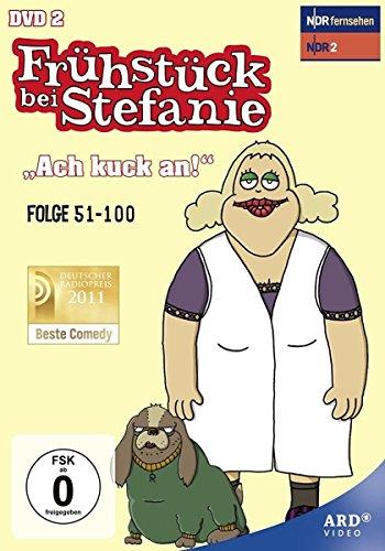 Frühstück bei Stefanie, Vol. 2: 'Ach kuck an' - Folge 51-100 (2 DVDs)
