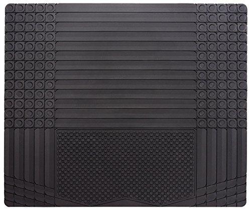 CarFashion Daytona KR2, Allwetter Kofferraummatte in schwarz, 1-teilig, zuschneidbar, Kofferraumschutz