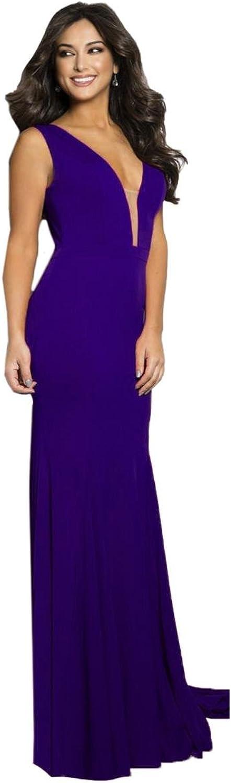 Jovani Open Back Mesh Inset Formal Dress