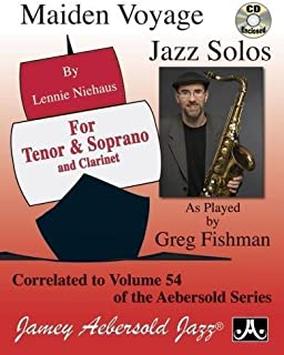 Play-A-Long Series, Vol. 54: Maiden Voyage - Tenor and Soprano Sax Solos (Book + CD Set)