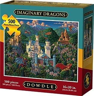 Dowdle Jigsaw Puzzle - Imaginary Dragons - 500 Piece