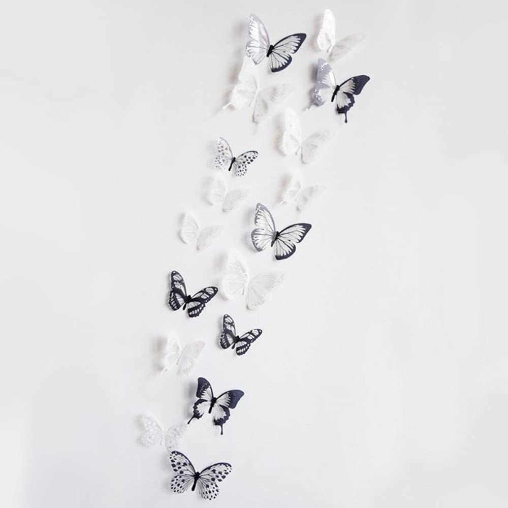 RYGHEWE Wall Sticker Decor 3D Stickers Spring new work one after another 2 36Pcs Butterfly S Ranking TOP11