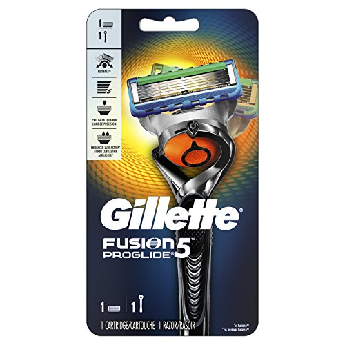 Gillette Fusion5 ProGlide Men's Razor, Handle & 1 Blade Refill