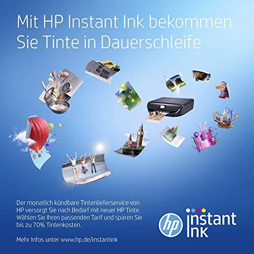 HP DeskJet 3764 Multifunktionsdrucker (Drucken, Scannen, Kopieren, WLAN, Airprint, mit 2 Probemonaten HP Instant Ink Inklusive) rot