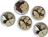 Petra de Manualidades-News A-HEHED5D de 5 Piezas Box Set, Corazón, Que Consta de 5 dosis en 3 diseños Diferentes