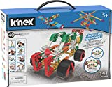 K'NEX Beginner 40 Model Building Set, Educational Toys for Boys and Girls, 141 Piece Beginners Learning Kit, Engineering for Kids, Fun and Colourful Building Construction Toys for Children Aged 5 +
