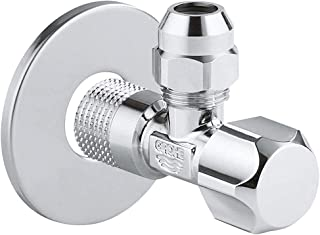 Grohe Metal Angle Valve Tap (Silver)