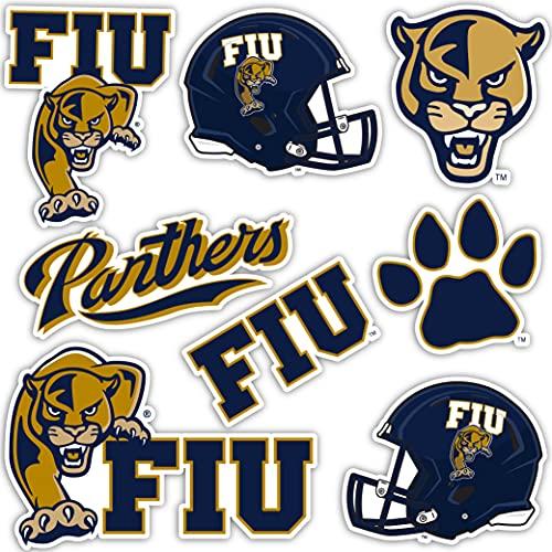 Florida International University Panthers FIU Sticker Vinyl Decal Laptop Water Bottle Car Scrapbook (Sheet - Type 2)